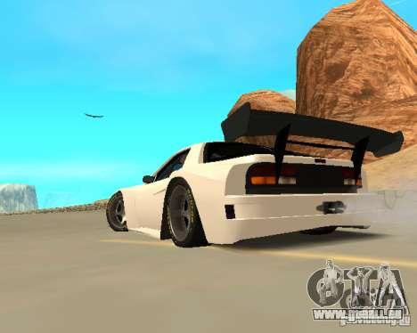 Mazda RX-7 FC - MadMike: Version.2 pour GTA San Andreas vue de droite