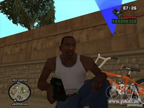 Le détonateur pour GTA San Andreas troisième écran