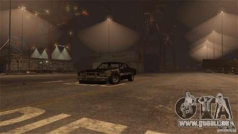 Jupiter Eagleray MK5 v.2 pour GTA 4 est une vue de l'intérieur