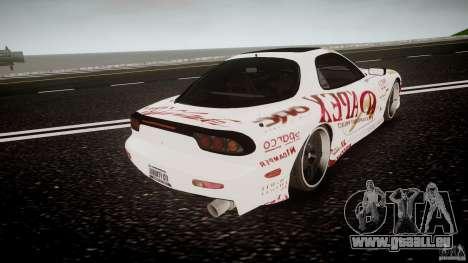 Mazda RX7 FD Apex Imamura für GTA 4 Seitenansicht