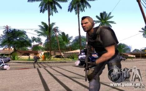 4 Un Mctavish (Brésil) pour GTA San Andreas deuxième écran