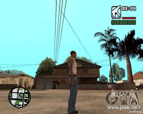 VZ-61 Scorpion für GTA San Andreas dritten Screenshot