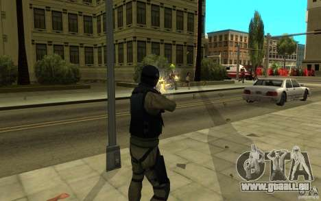 CJ-special forces pour GTA San Andreas sixième écran