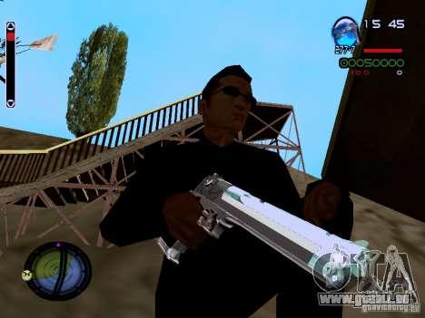 Ice Weapon Pack für GTA San Andreas zehnten Screenshot