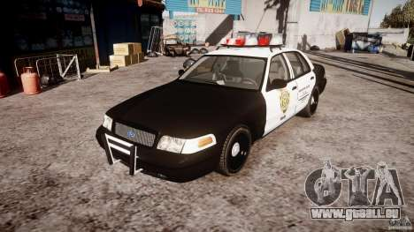 Ford Crown Victoria Raccoon City Police Car pour GTA 4