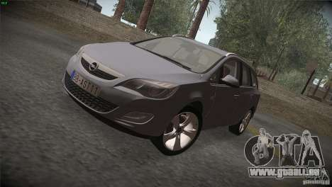 Opel Astra 2010 pour GTA San Andreas