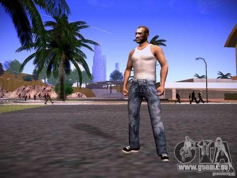 Niko Bellic Reload Beta 0.1 pour GTA San Andreas deuxième écran