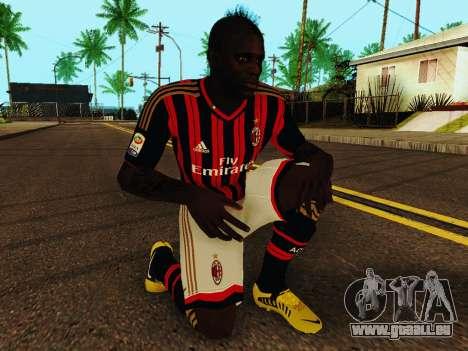 Mario Balotelli v1 für GTA San Andreas fünften Screenshot
