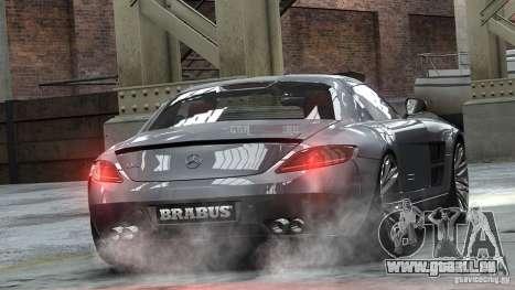Mercedes-Benz SLS 2011 Brabus AMG Widestar pour GTA 4 est une gauche