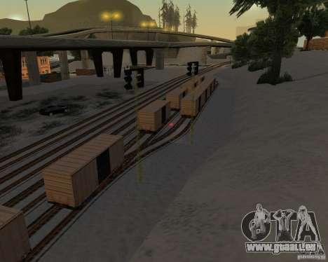 Nouvelle station de chemin de fer pour GTA San Andreas troisième écran