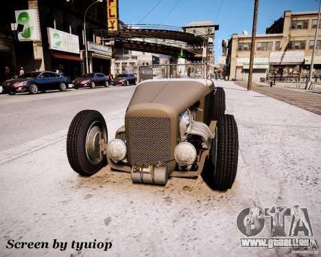 Roadster High Boy für GTA 4 linke Ansicht