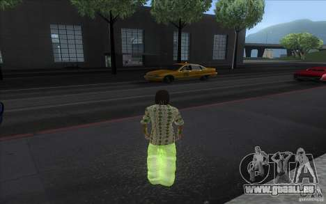 Rasta ped für GTA San Andreas zweiten Screenshot