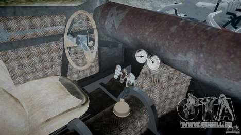 Ford RatRoad 1936 pour GTA 4 Vue arrière