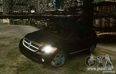 Dodge Caliber pour GTA 4 est une gauche