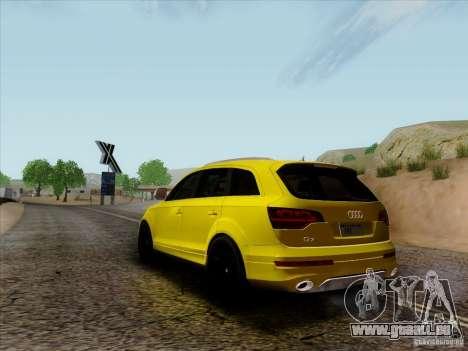 Audi Q7 2010 pour GTA San Andreas vue de droite