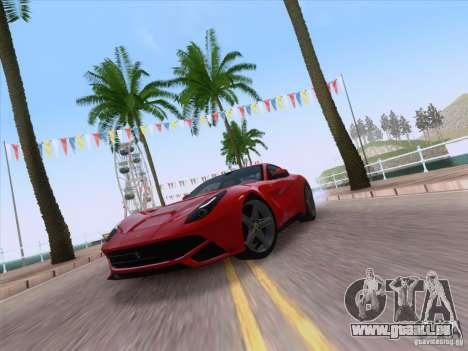 Ferrari F12 Berlinetta pour GTA San Andreas vue de droite