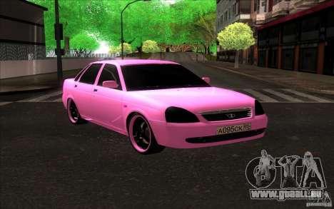 Lada Priora Emo pour GTA San Andreas