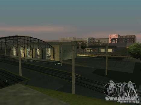 Réseau de contacts pour GTA San Andreas troisième écran