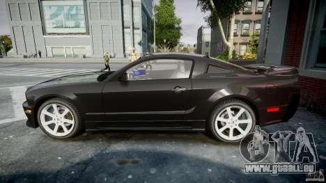 Saleen S281 Extreme Unmarked Police Car - v1.2 für GTA 4 linke Ansicht