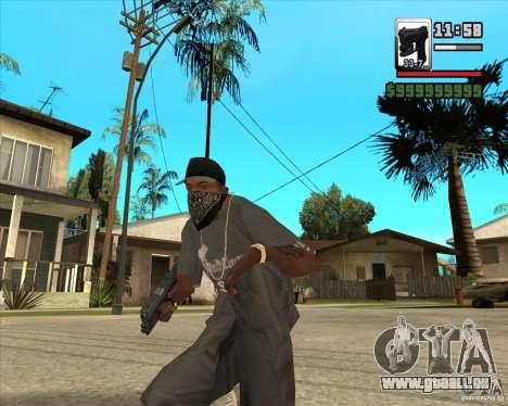 Glock new version pour GTA San Andreas deuxième écran