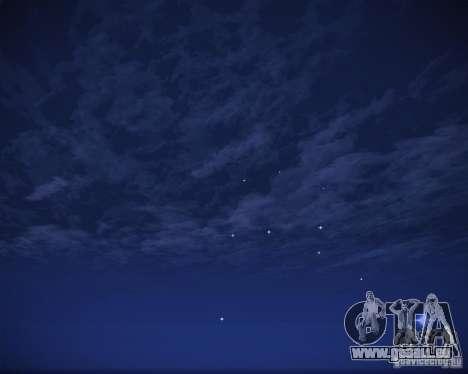 Real Clouds HD pour GTA San Andreas neuvième écran