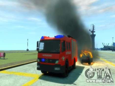 Mercedes-Benz Atego Fire Departament für GTA 4 obere Ansicht