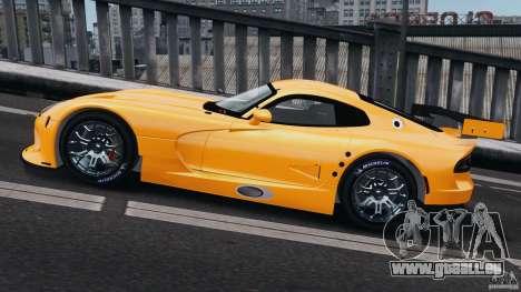 SRT Viper GTS-R 2012 v1.0 pour GTA 4 est une gauche