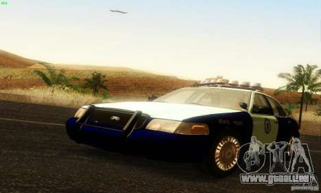 Ford Crown Victoria Masachussttss Police pour GTA San Andreas