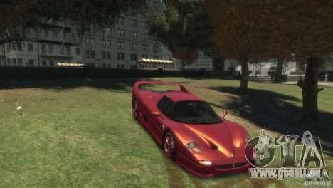 Ferrari F50 für GTA 4 rechte Ansicht