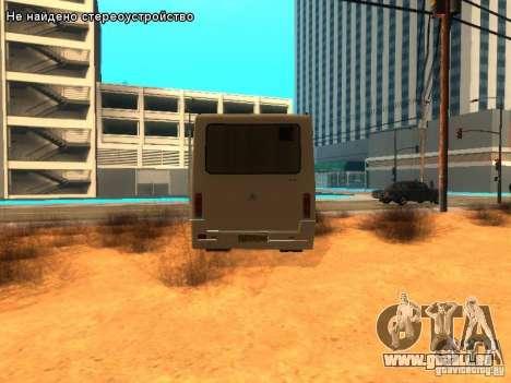 BASES et 079.14 pour GTA San Andreas sur la vue arrière gauche