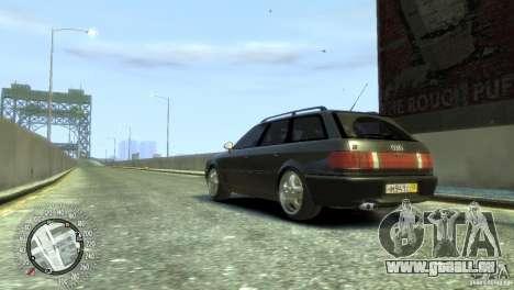 Audi RS2 Avant pour GTA 4 est une gauche