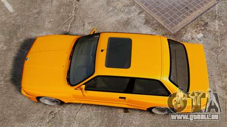 BMW M3 E30 v2.0 pour GTA 4 est un droit