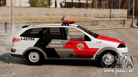 Fiat Palio Weekend Trekking 2013 PMESP ELS pour GTA 4 est une gauche