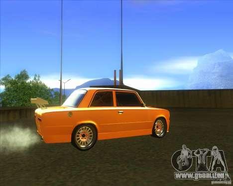 VAZ 2101 explosive voiture tuning pour GTA San Andreas sur la vue arrière gauche