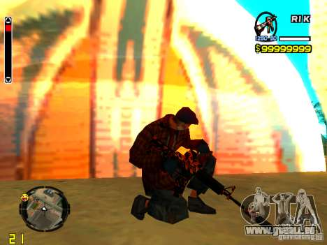 Tiger wepon pack pour GTA San Andreas