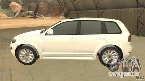 Volkswagen Touareg R50 für GTA San Andreas linke Ansicht