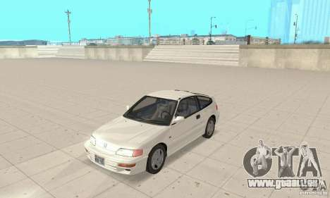 HONDA CRX II 1989-92 pour GTA San Andreas