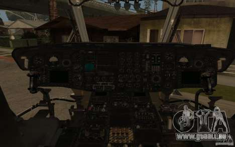 CH 53 pour GTA San Andreas laissé vue