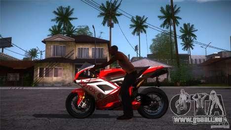Ducati 1098 pour GTA San Andreas laissé vue