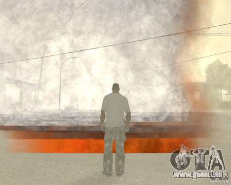 Tornade pour GTA San Andreas deuxième écran