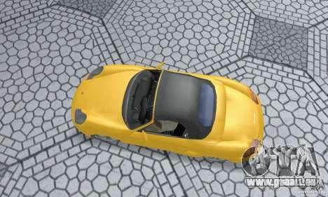 Porsche Boxster pour GTA San Andreas sur la vue arrière gauche