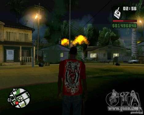 Bombe für GTA San Andreas dritten Screenshot