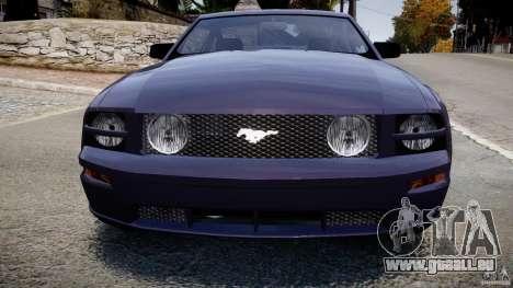 Ford Mustang für GTA 4 Innenansicht