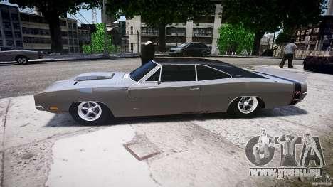 Ride basse de Dodge Charger RT 1969 tun v1.1 pour GTA 4 est une gauche