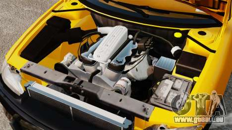 Dodge Intrepid 1993 Taxi pour GTA 4 est une vue de l'intérieur