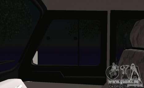 UAZ-31512 Police pour GTA San Andreas vue de côté