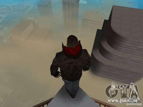James Heller vom Prototyp 2 für GTA San Andreas her Screenshot