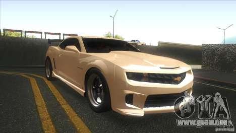 Chevrolet Camaro SS Dr Pepper Edition für GTA San Andreas Innenansicht