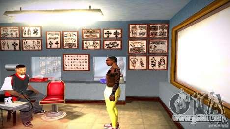 Drei neue Tätowierung für GTA San Andreas siebten Screenshot