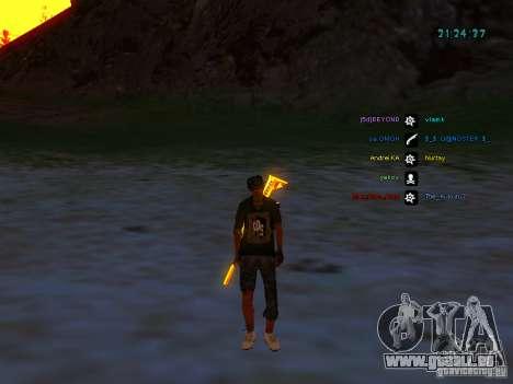Skin Pack für Samp-rp für GTA San Andreas fünften Screenshot